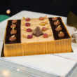 Szivárvány karácsonyi torta - Négyzet