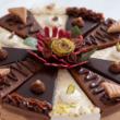 Szivárvány torta - kerek 4x3