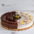 Szivárvány torta - kerek 6x2