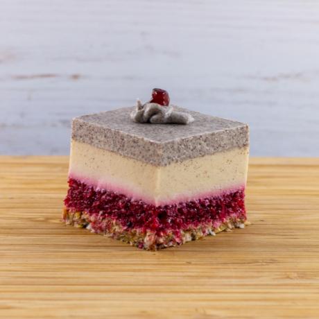 Mákos ribizli vanília kocka