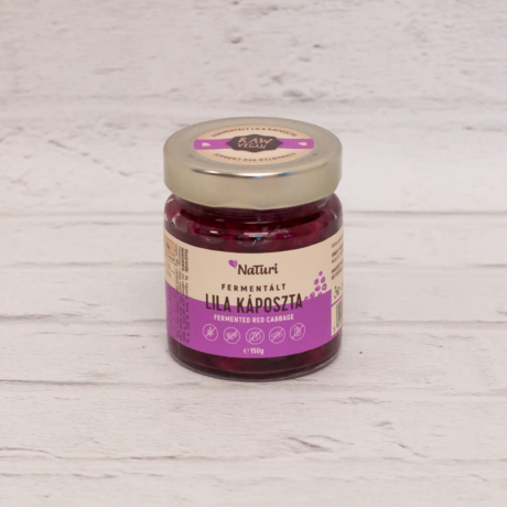 Fermentált lila káposzta - kicsi