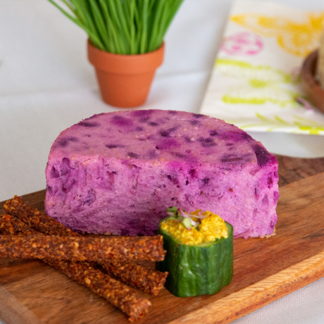 Köles sajt - Fél - Lila káposztás