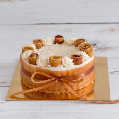 Mangó vanília torta